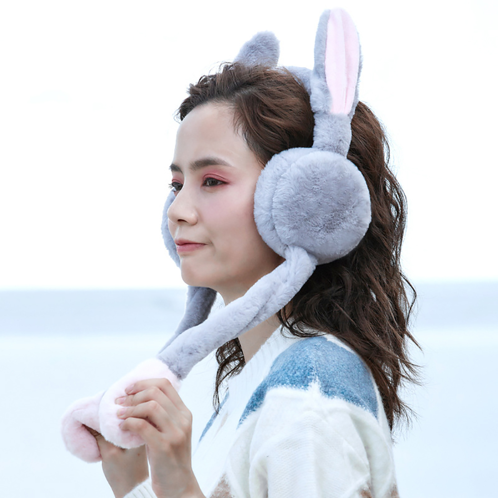 Headbands Accessories Breatheable Portable Winter Gifts Earmuff Workout Comfortable Imitation Rabbit Keep Warm Ear Protector