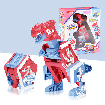 Deformation Dinosaur Toys Puzzle Action Deformation Car Toy Mini Deformation Vehicle Model Toy Robot Action Figures For Children beast king kong 5 in 1 deformation of robot five toy boy gift fit model page 8