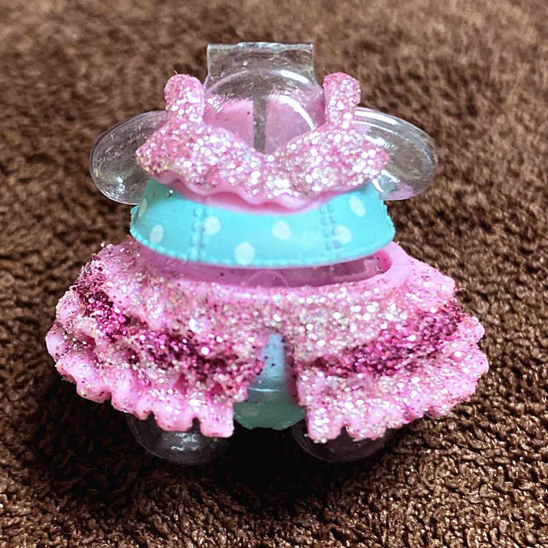 ل LOL 8 سنتيمتر دمى شقيقة كبيرة الأصلي فستان الملابس الدعاوى الاطفال لعبة فتاة هدية عيد ميلاد التجزئة 1 قطعة يمكن اختيار L.O.L. مفاجأة!