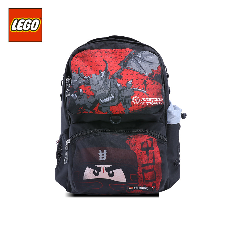 Lego LEGO New Style GIRL'S And BOY'S Backpack 16 Grade Young STUDENT'S Cartoon Bag Light 20171