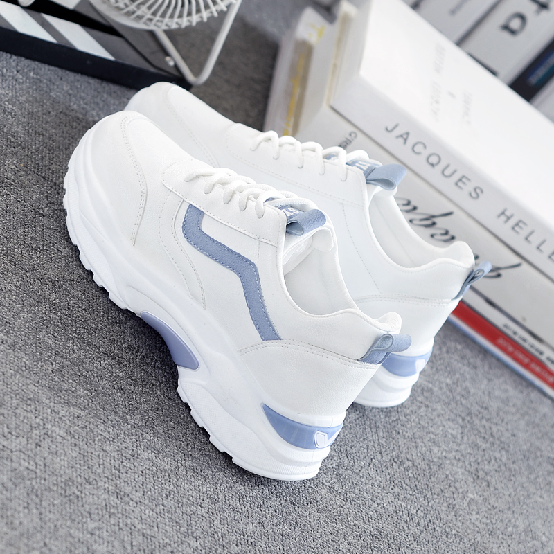 Women Sneakers 2019 Fashion Casual Shoes Woman Comfortable Breathable White Flats Female Platform Sneakers