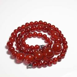 Liangshan, натуральный красный агат, башня на цепочке, красный халцедон, женские модели, агатовое ожерелье, Южно-красный агат, ожерелье