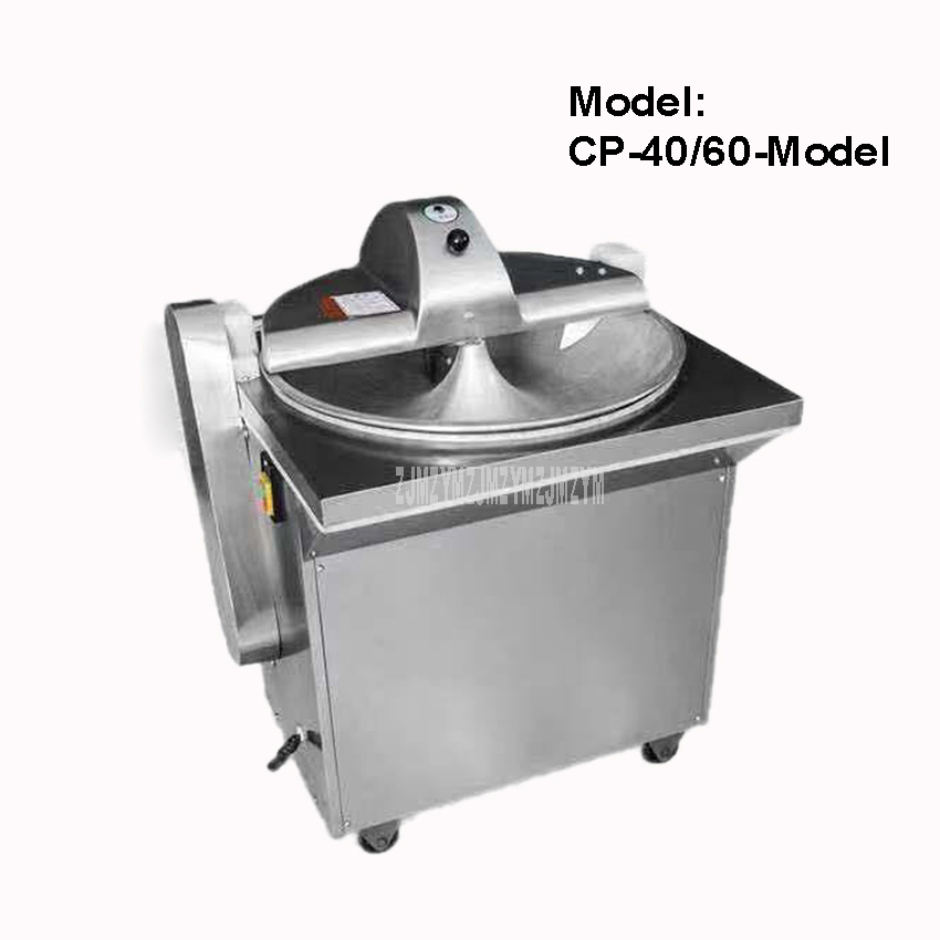 CP-40/60-Model Commercial Electric Vegetable Crusher Cutter Chopper Stainless Steel Onion Garlic Automatic Grinding Machine