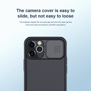 Image 3 - for Apple iPhone 12 Pro Max Phone Case,NILLKIN Camera Protection Slide Protect Cover Lens Protection Case for iPhone 12 Mini 5G