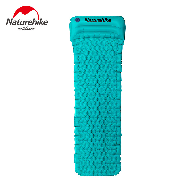 NH Inflatable Mattress Outdoor Tent Sleeping Mats Single Person Ultra-Light with Pillow-Shaped Nests Moisture Proof Pad Wholesal
