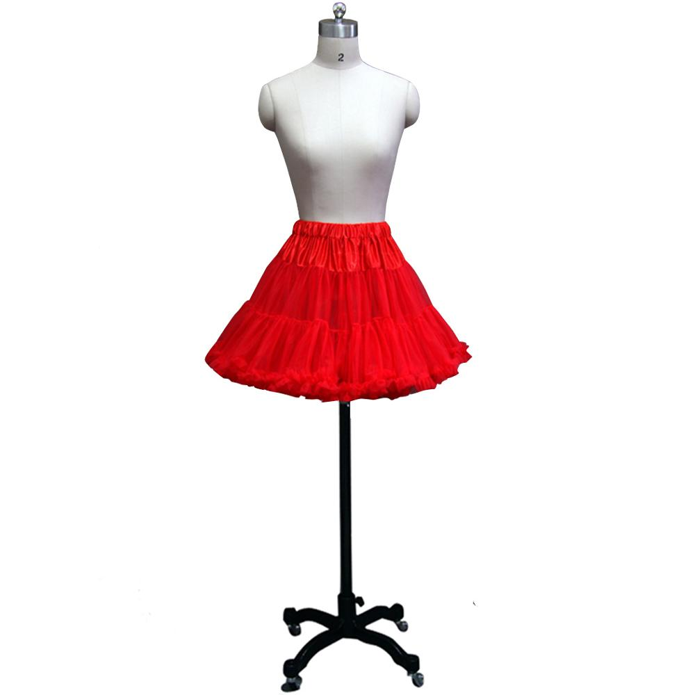 Hot Sale Multi Colored Short Mini Petticoat Tulle Crinoline Underskirt For Wedding Bridal Dress Cheap Wedding Accessorie