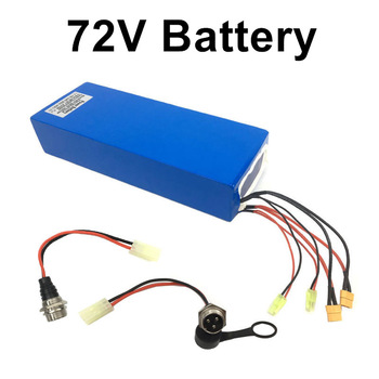 72V 35AH 45Ah Scooter Battery with Panasonic Cell 84V Charger full charged Lithium Battery Pack for 72V electric scooter liitokala 72v 35ah battery 72v electric bicycle battery 72v 2000w electric scooter battery 72v lithium battery pack with 30a bms