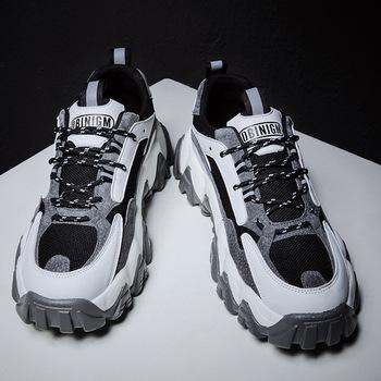 Tata mężczyźni buty modna siatka lekkie oddychające męskie obuwie tenisowe męskie trampki Zapatos Hombre męskie buty tanie i dobre opinie SIMPLEXEVER Mesh (air mesh) RUBBER Lace-up Pasuje prawda na wymiar weź swój normalny rozmiar Podstawowe Lato Patchwork