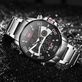 Роскошные Для мужчин часы 2020 Tech светодиодный спортивные мужские часы Полный Сталь 3ATM цифровые наручные часы оригинальный бренд KADEMAN Повсед...