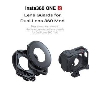 Image 2 - Protetor de lente original/acessório para insta360 um r dupla lente 360 mod tampa de vidro em estoque