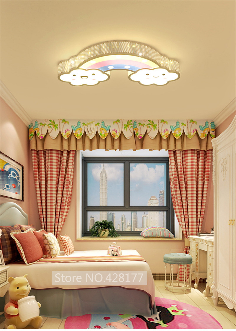 rainbow ceiling light (8)