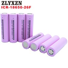 5-40PCS 18650 Battery for samsung 3.7v Rechargeable batteries 2600maH Li ion ICR18650 26F flashlight