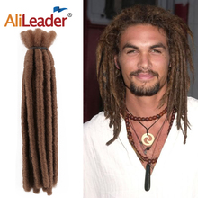 Alileader 6 inches Short Dreads Crochet Braiding Hair High Quality Synthetic Dre