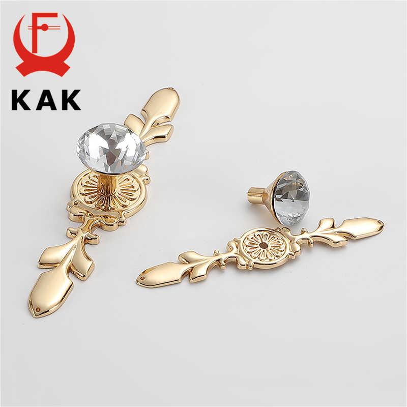KAK lüks elmas kristal kolları ayakkabı kutusu dolap kolları dolap Dresser çekmece kolları dolap Pulls çektirme mobilya donanım