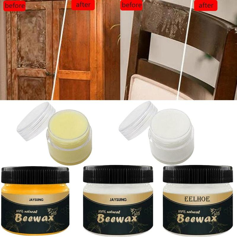 Furniture Care Polishing Beeswax Waterproof Wear-resistant Wax Wood Seasoning Beewax For Wooden Tables Chairs Cabinets Doors