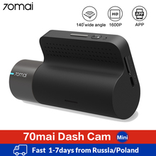 70mai מיני דאש מצלמת Wifi רכב DVR דאש מצלמה 1600P מלא HD ראיית לילה G חיישן app בקרת 70 מאי Dashcam אוטומטי וידאו מקליט