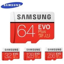 SAMSUNG EVO+  Micro SD 32G SDHC 80mb/s Grade Class10 Memory Card C10 UHS I TF/SD Cards Trans Flash SDXC 64GB 128GB for shipping