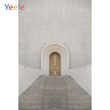 Yeele Landscape Photocall Stone Church Wood Door Photography Backdrops Personalized Photographic Backgrounds For Photo Studio