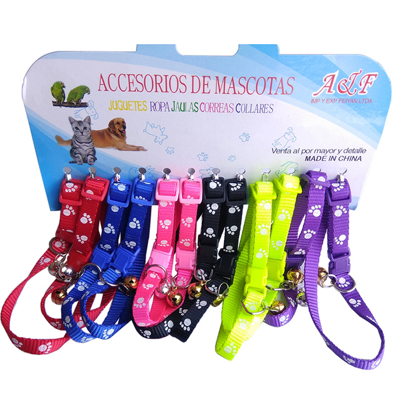 Pet Supplies Dogs And Cats Bell Dog Neck Ring Cat Neck Ring Teddy Small Dogs Bell Cat Hand Holding Rope