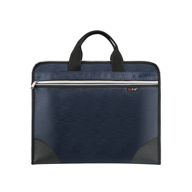 Oxford Cloth Portable Document Bag Men and Women Business Office Meeting Briefcase  Document Bag Shoulder Bags for Men Maleta