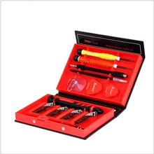 Hot 38 With 1 Screwdriver Set Of Mobile Phone Disassembly Tools Electronic Telecommunications Products Maintenance Tools optical tools eyelgasses rimless disassembly pliers set with 10 screws drivers aluminium carrying case