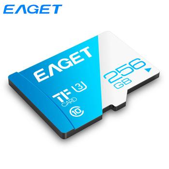 Eaget Mini karta pamięci SD 128GB 64GB karta Micro SD 32GB 16GB klasa 10 wysokiej prędkości karta TF dla Samsung telefony z systemem Android tablety T1 tanie i dobre opinie Class 10 High Speed CN (pochodzenie) Tf micro sd card