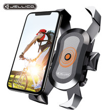 Jellico Universal Bike Phone Holder Motorcycle Bicycle Phone Holder Handlebar Stand Mount Bracket Phone Stand For 4-6.5 Inches