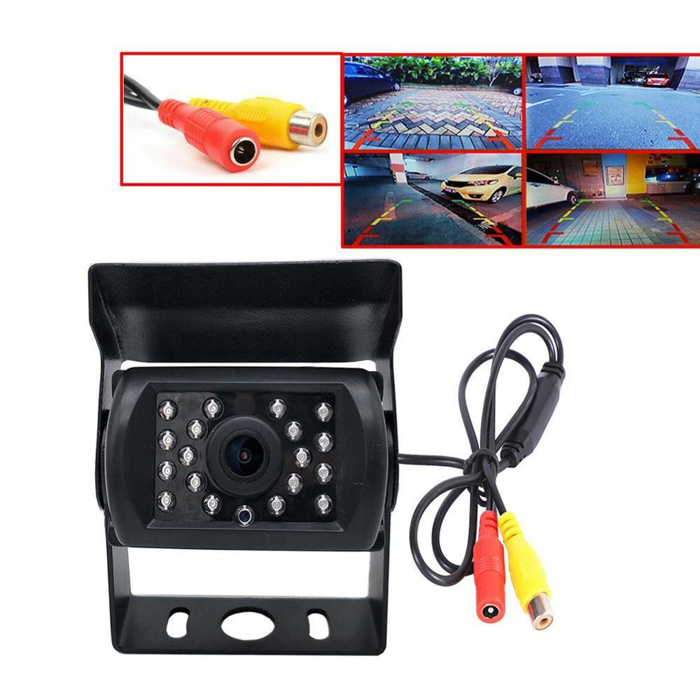 Heavy Duty 4 Pin/RCA Vehicle Rear/Side View Camera Extension Cable For Truck RV Bus Trailer IR Night Vision Waterproof