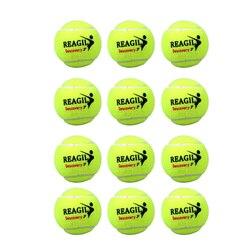 Pelota de entrenamiento de alta elasticidad de tenis de 12 Uds.