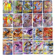 TAKARA TOMY – Carte Pokemons GX, cartes brillantes, étiquette de jeu équipe VMAX GX V MAX, Carte de combat, jouet pour enfants