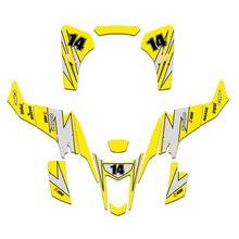 3m autocollants graphiques autocollant Kit pour Suzuki LTZ400 LTZ 400 2003 2004 2005 2006 2007 2008