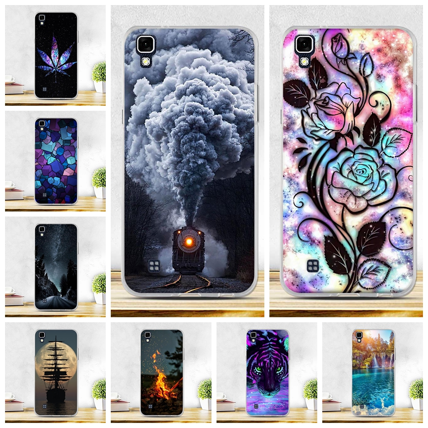 Case For Coque LG X Power Case Painted TPU Soft Silicon Back Cover For Fundas LG X Power K220ds K220 LS755 Cover Capa Phone Case