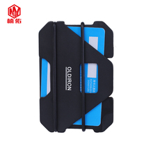 Aluminum Alloy Wallet EDC Outdoor Pocket Tool Credit Card Holder Business Cards ID Wallet Coin Purse Anti-theft Brush RFID