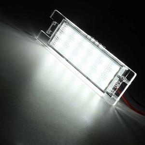Image 2 - 2X numer LED oświetlenie tablicy rejestracyjnej lampy dla opla/Astra K J H Corsa D C Meriva A B Zafira B Insignia Vectra C/Adam dla Vauxhall