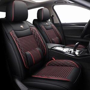 Image 2 - Yeni deri ve buz İpek araba koltuğu kapakları LEXUS RX270 RX350 RX450h RX300 RX330 RX400h RX200 NX200 NX300 NX300h araba koltukları şekillendirici
