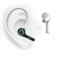 Nueva luz de lujo I17 TWS solo oído inalámbrico Bluetooth Mini in Ear auriculares estéreo inalámbricos con micrófono para Iphone todos los teléfonos inteligentes