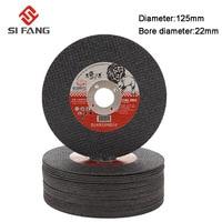 5-50 pces 125mm discos de moagem discos de corte de resina de metal roda flap lixar discos de moagem roda moedor de ângulo