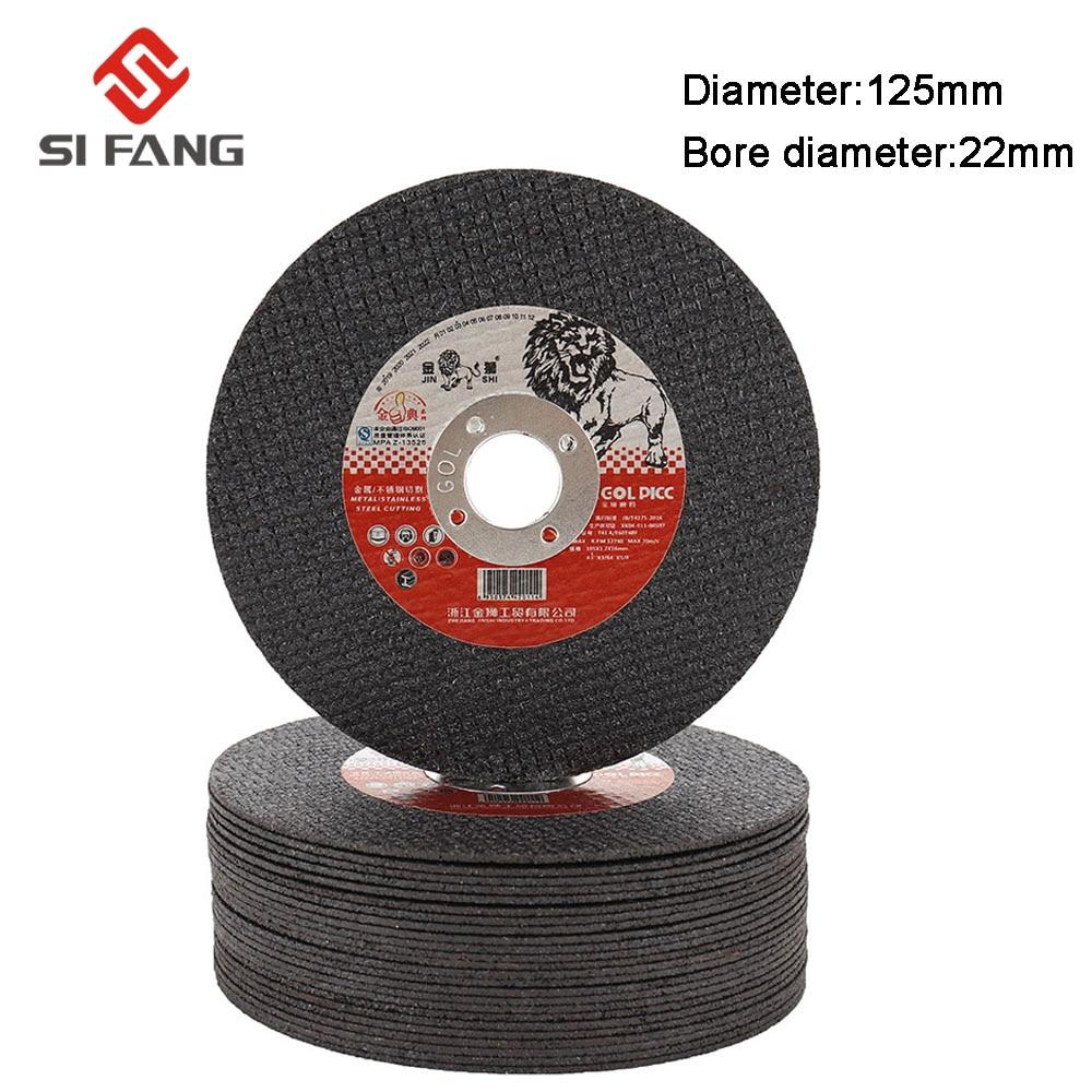 5-50Pcs 125MM  Grinding Discs Metal Resin Cutting Discs Wheel Flap Sanding Grinding Discs Angle Grinder Wheel