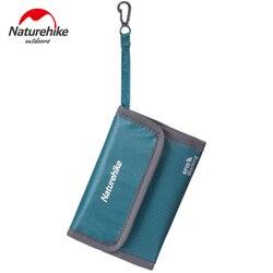 Naturehike rfid blokowanie Anti theft szczotka portfel podróżny wielofunkcyjny podróżne bilet anti splashing aktówka torba do przechowywania|Torby wspinaczkowe|Sport i rozrywka -