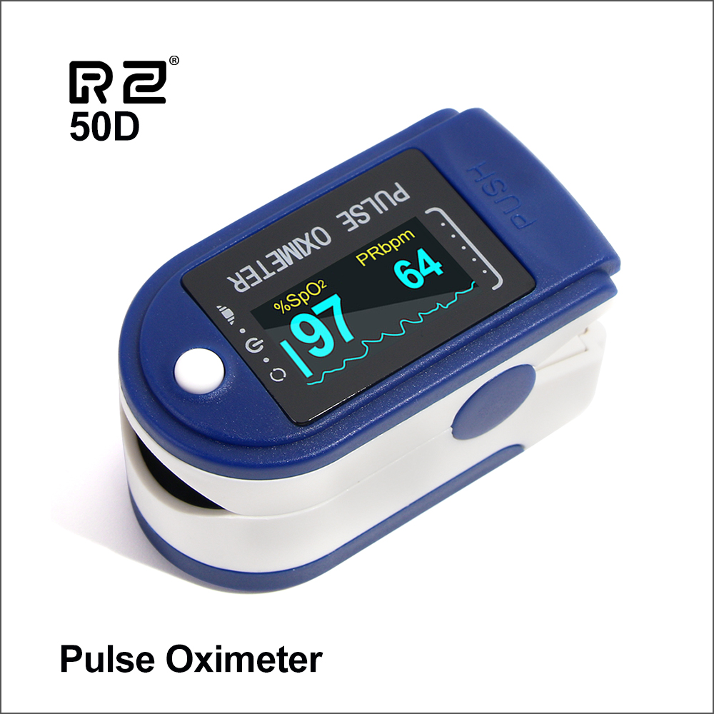 RZ Portable Finger Oximeter Fingertip Pulsoximeter Medical Equipment With Sleep Monitor Heart Rate Spo2 PR Pulse Oximeter