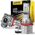 Комплект из 2 предметов, с can-bus H8 H11 светодиодный H9 H10 CSP светодиодный лампы автомобиля анти Противотуманные огни 4000LM авто, вождения, бега, свет...