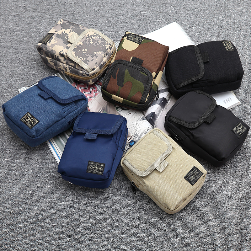 Canvas Waist Bag Men Fashion Unisex Waist Belt Bag Men Fanny Pack Casual Street Chest Bags Men Casual Waist Pouch
