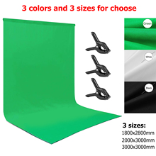 Photography Background Backdrop Durable Washable Polyester cotton Green Screen Chromakey Background Cloth For Photo Studio