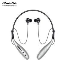 Bluedio ח. נ. בתוספת bluetooth אוזניות אלחוטי אוזניות מגנט בקרת צעדים ספירת 13mm כונן SD כרטיס חריץ מיקרופון אפרכסת מוסיקה