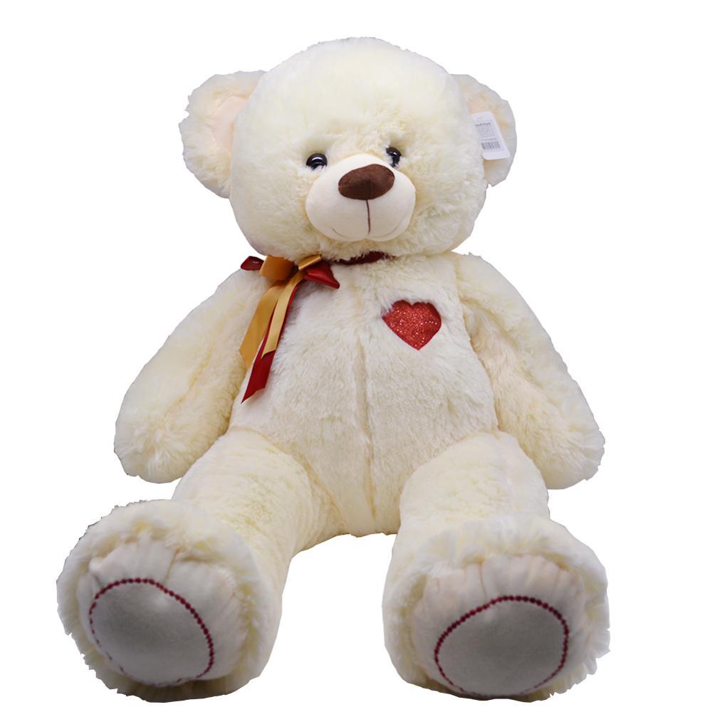 50cm grand ours en peluche jouet en peluche belle énorme ours en peluche porter nœud papillon ours enfants jouet cadeau d'anniversaire pour petite amie noël
