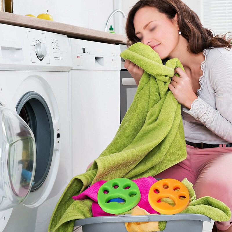 2/4PCS Reusable Laundry Pet Hair Remover 6
