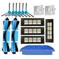 Filtro Hepa Principale Pennello Spazzola Laterale Pastiglie Mop Panno per Conga 3090 Robot Aspirapolvere Filtro Serbatoio di Acqua Parti Del Filtro accessori