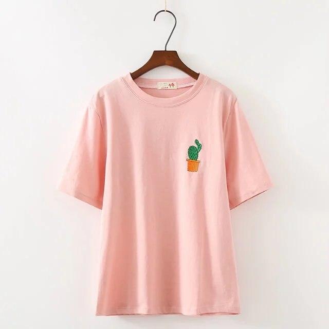 2018 O-Neck T Shirt Women Casual Tshirt Summer Fashion T-shirt Cotton T-shirts