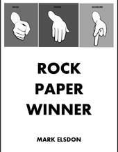 Vencedor de papel rock por mark elsdon