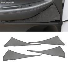 Stainless Steel Interior Door Stereo Speaker Audio Ring Cover Sound Frame Decoration Trim For Hyundai Santa Fe 2019 2020